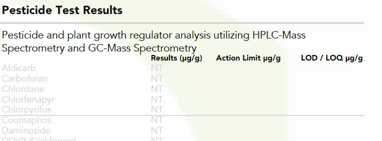 How To Read A Certificate Of Analysis For Cbd